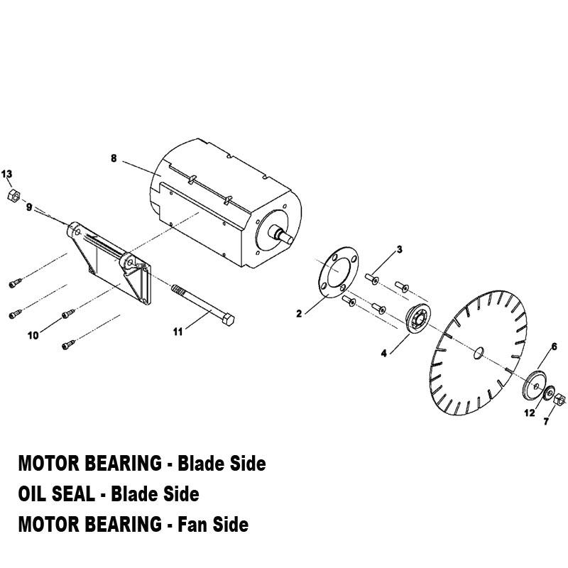 Wet Tile Saw Motors Wiring Diagrams Repair Wiring Scheme