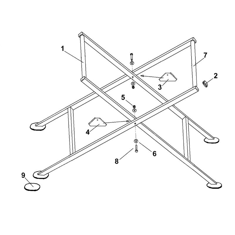 imer touchdown td 10 brick paver saw parts. Black Bedroom Furniture Sets. Home Design Ideas